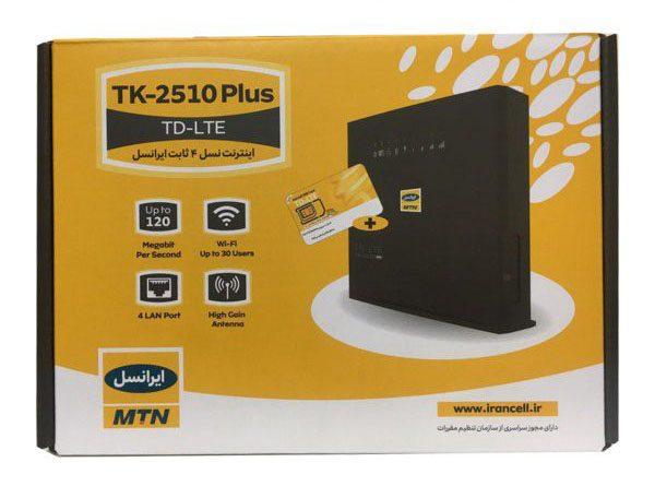 بررسی مودم TD-LTE جدید TK-۲۵۱۰ Plus ایرانسل