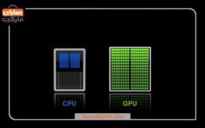 تفاوت gpu با cpu در چیست؟