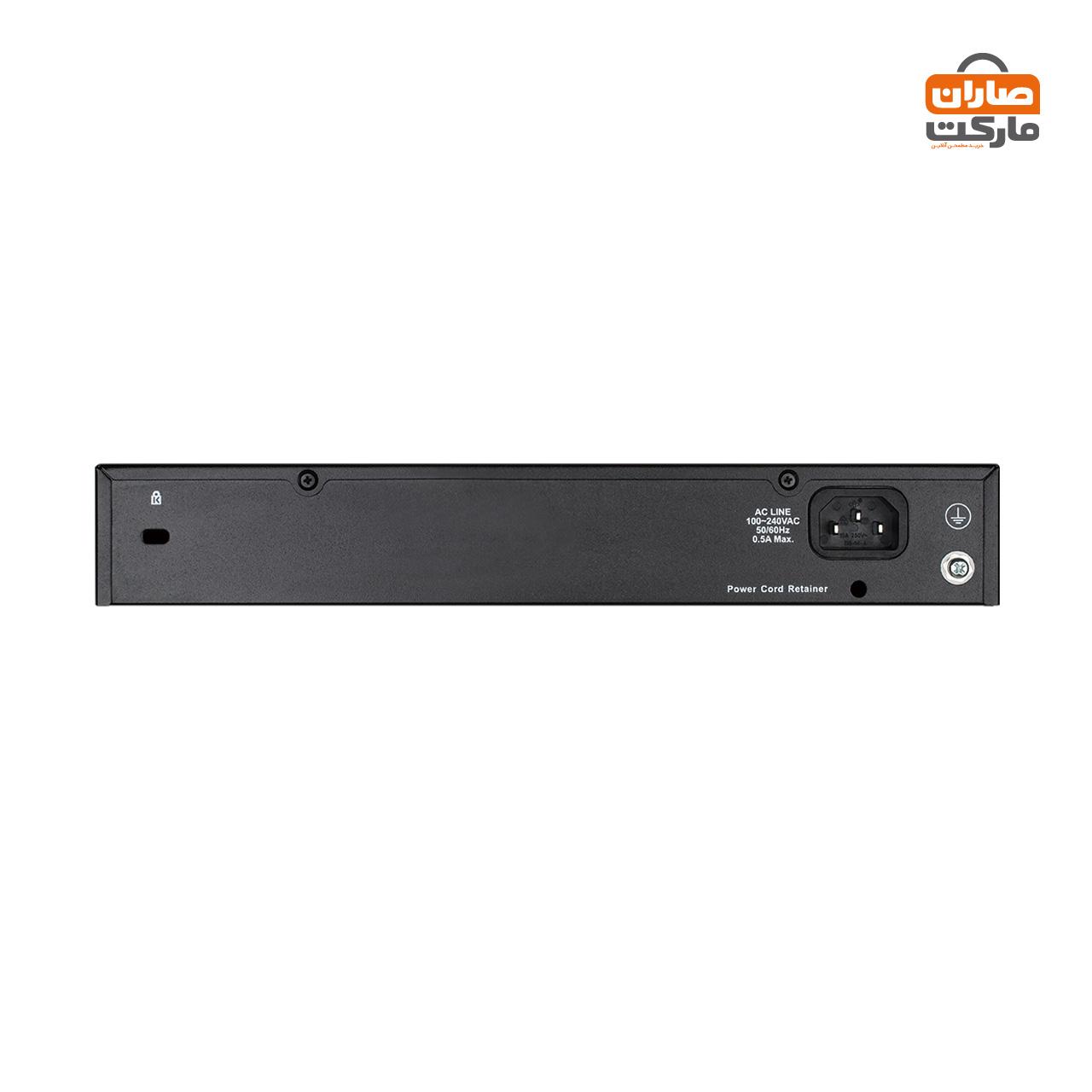سوئیچ 24 پورت گیگابیتی، غیر مدیریتی و دسکتاپ دی-لینک مدل DGS-1024D