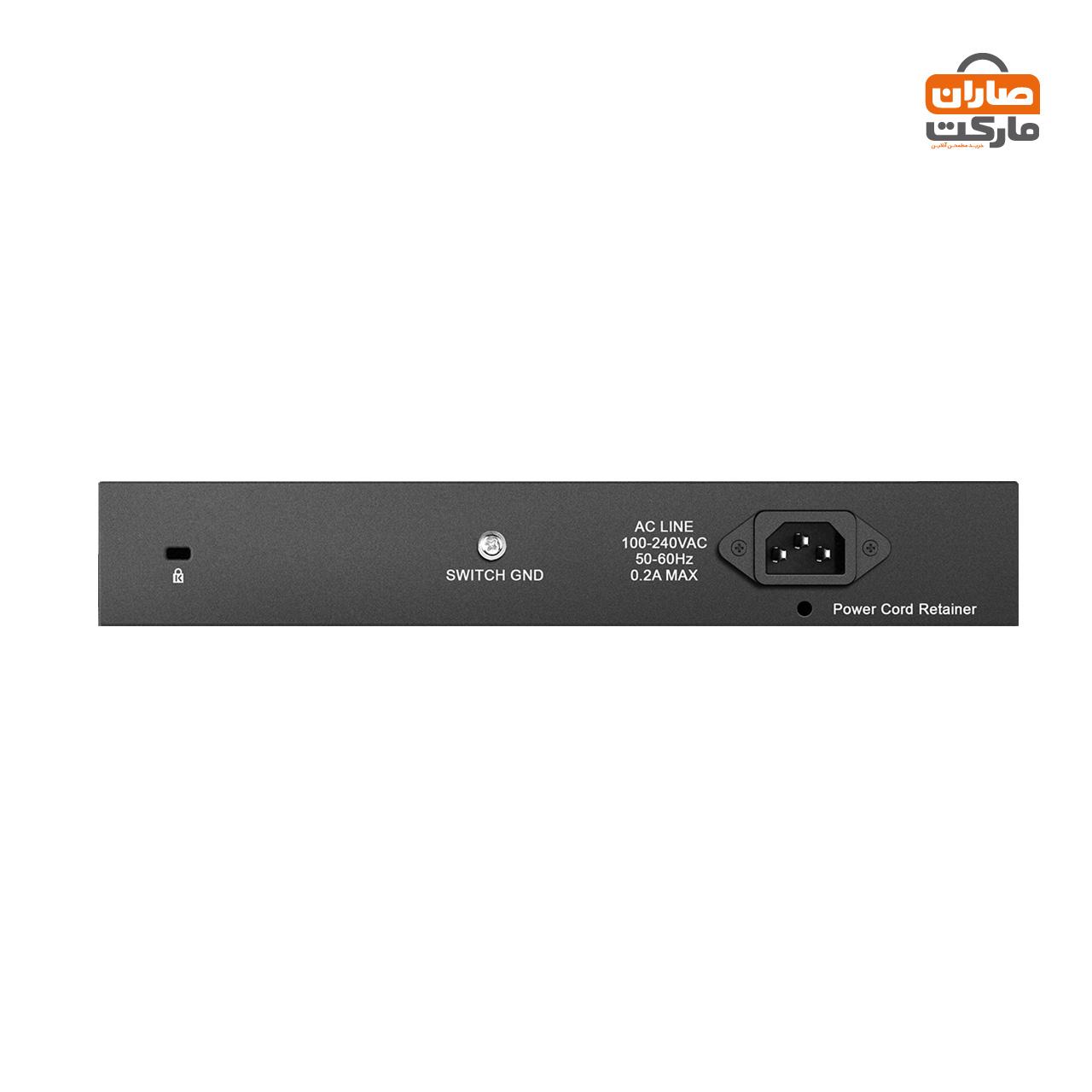 سوییچ 16 پورت گیگابیتی، غیر مدیریتی و دسکتاپ دی-لینک مدل DGS-1016D
