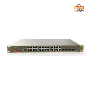 سوییچ 24 پورت POE گیگابیتی آی پی کام مدل IP-COM G3224P