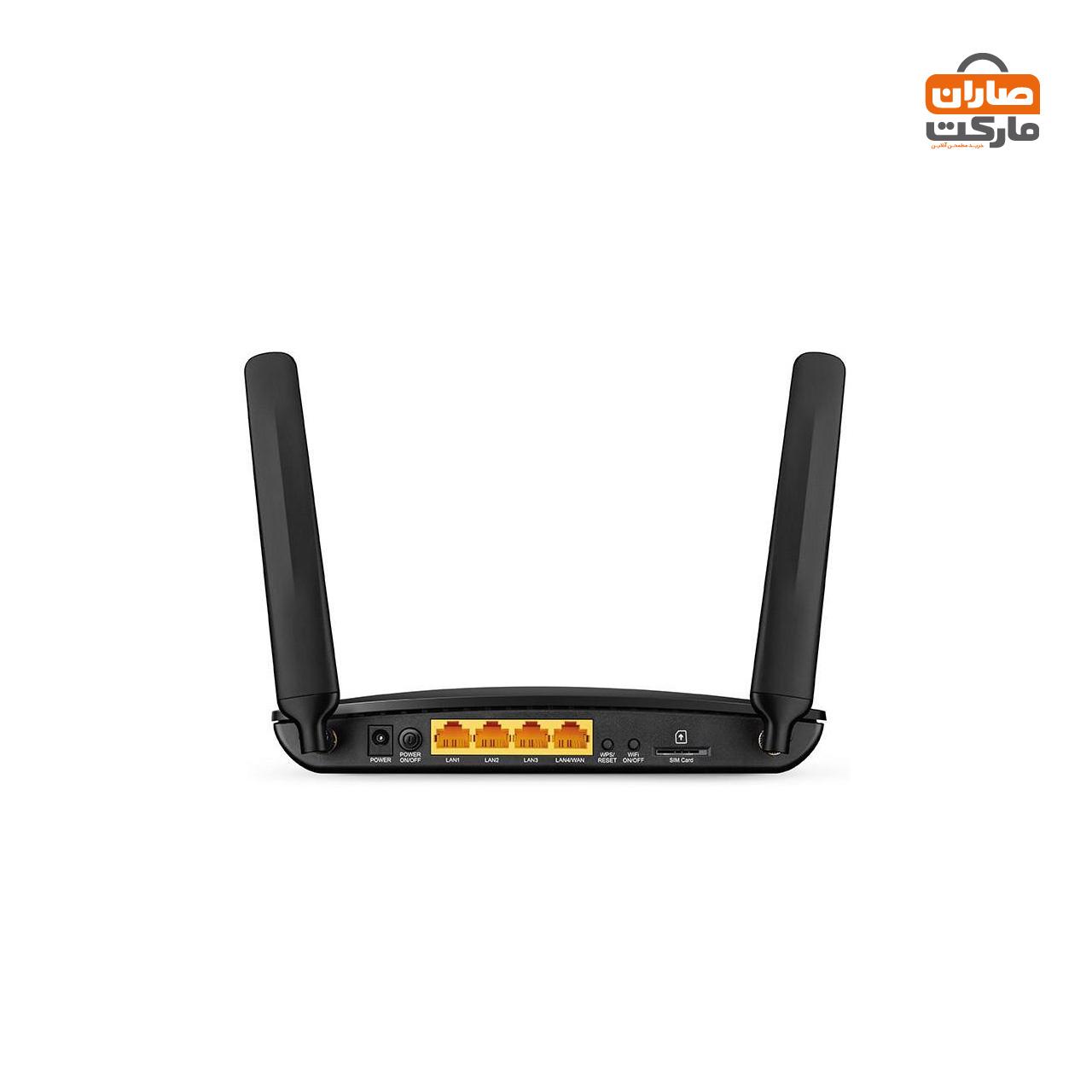 مودم روتر 4G LTE بی سیم N300 تی پی-لینک مدل TL-MR6400 V2
