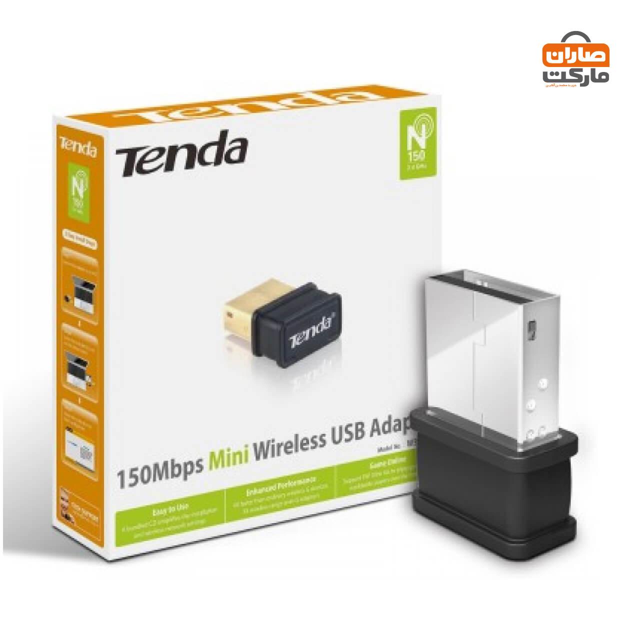کارت شبکه بیسیم USB تندا مدل W311MI