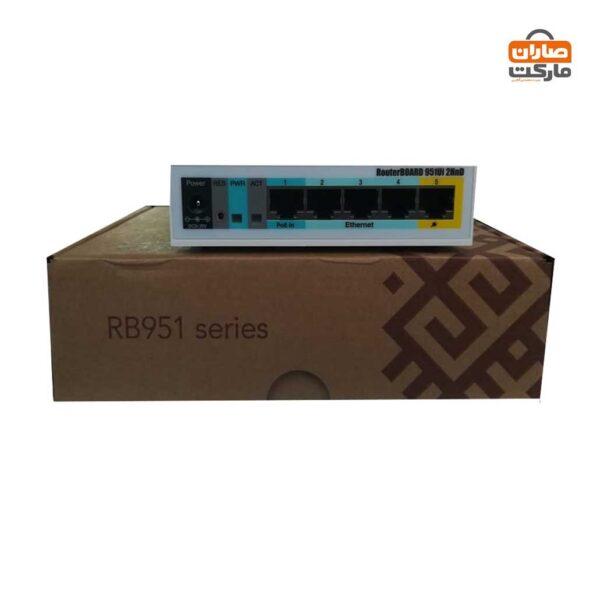 روتر برد میکروتیک MikroTik RB951Ui-2HnD