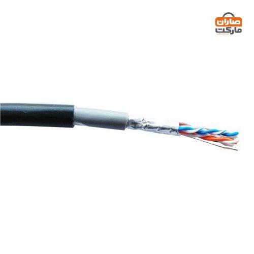 کابل شبکه cat6 دی-لینک مدل NCB-C6FOBLR-305