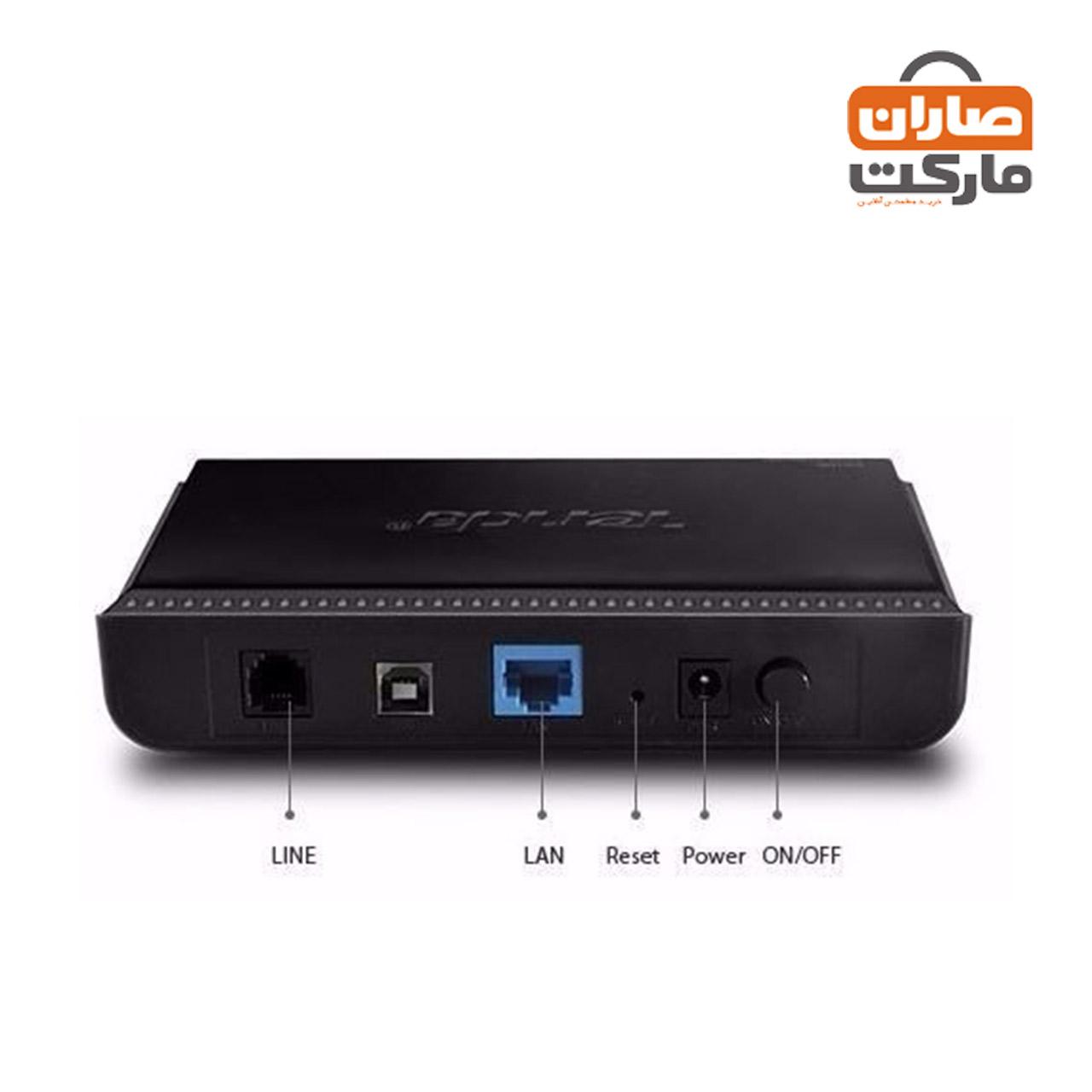باندل مودم ADSL کابلی Tenda و روتر بیسیم Huawei