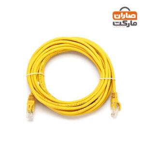 کابل شبکه ۵ متری cat6 knet utp